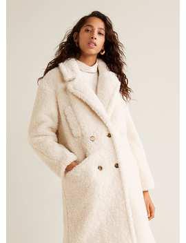 Пальто с овчиной by Mango