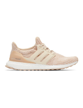 Pink Ultra Boost Sneakers by Adidas Originals