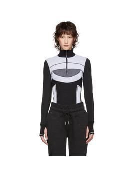 Black & White Run Ultra Sweater by Adidas By Stella Mccartney