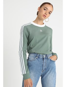 3 Stripes    Long Sleeved Top by Adidas Originals