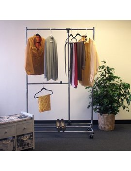 "Rebrilliant 46"" W Garment Rack by Rebrilliant"
