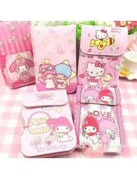 Cute Little Twin Star My Melody Hello Kitty Coin Wallet Bag Backpack Coin Purse Toy For Children Gifts B71 by Ali Express
