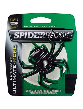 Spider Wire Ultracast Ultimate Monofilament Fishing Line by Spiderwire