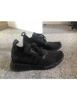 Adidas Unisex Adults' Nmd R1  All Black Pk Fitness Shoes by Ebay Seller