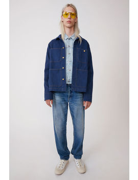 Short Jacket Denim Blue by Acne Studios