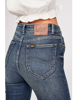 Lee High Rise Skinny Jeans by Free People
