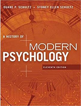 A History Of Modern Psychology by Amazon