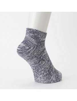 Men Pique Short Socks by Uniqlo