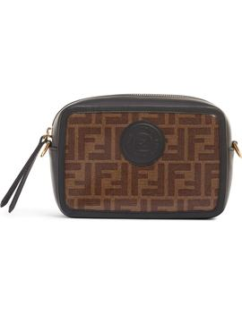Logo Canvas Camera Bag by Fendi