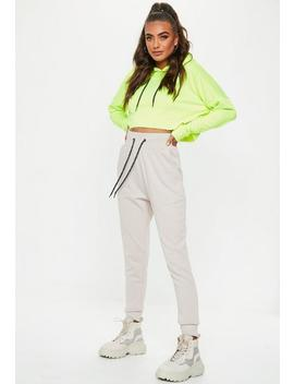 Sand Company Record Joggers by Missguided