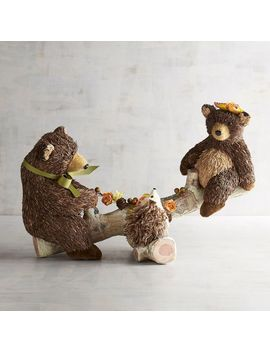 Louie &Amp; Lottie The Natural Seesaw Bears by Grateful Harvest Collection