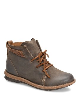 Temple Distressed Suede Booties by Born