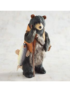 Natural Fishing Black Bear by Grateful Harvest Collection