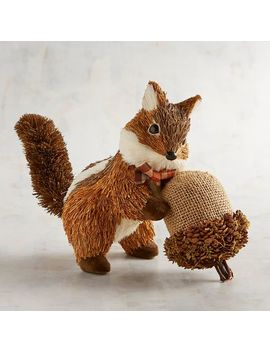 Natural Chipmunk With Acorn by Grateful Harvest Collection