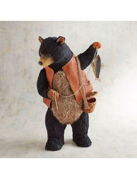 Chauncey The Natural Fishing Bear by Grateful Harvest Collection