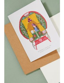 Gypsy Wagon Card by Anthropologie