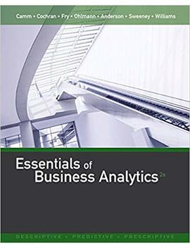 Essentials Of Business Analytics by Amazon