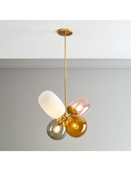 Modern Balloon Glass Chandelier by West Elm