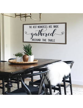 """Large Dining Room Sign 
