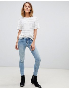 All Saints Iris Stripe T Shirt by All Saints