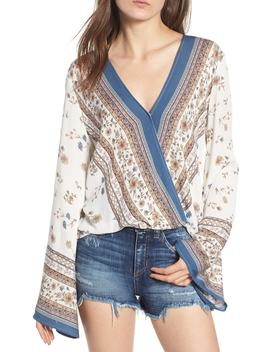 Tulum Bell Sleeve Top by Lost + Wander