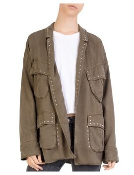 Studded Cargo Jacket by The Kooples