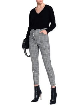 Checked Woven Skinny Pants by Alexander Wang
