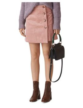 Corduroy Mini Skirt by Whistles