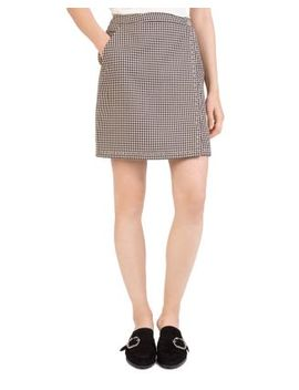 Checkered Mini Skirt by The Kooples