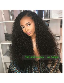 Curly Hair 3 Bundles With Frontal Ably Malaysian Remy Human Hair Weave Full And Bouncy Curly Lace Frontal Closure With Bundles by Ably