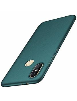 Anccer Xiaomi Mi A2 Case,Xiaomi 6 X Case [Colorful Series] [Ultra Thin] [Anti Drop] Premium Material Slim Full Protection Cover For Xiaomi A2 (Gravel Green) by Anccer