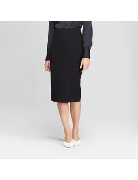 Women's Midi Pencil Skirt   Prologue™ Black by Prologue™