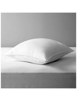 John Lewis & Partners Synthetic Soft Touch Washable Square Pillow, Soft/Medium by John Lewis &Amp; Partners