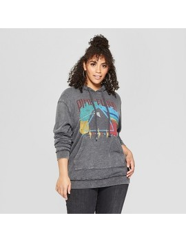 Junk Food Women's Plus Size Pink Floyd Graphic Sweatshirt   Black by Junk Food