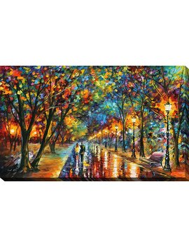 "Winston Porter ""When The Dreams Came True"" By Leonid Afremov Painting Print On Wrapped Canvas & Reviews by Winston Porter"