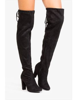 Sky The Limit Over The Knee Boot by A'gaci