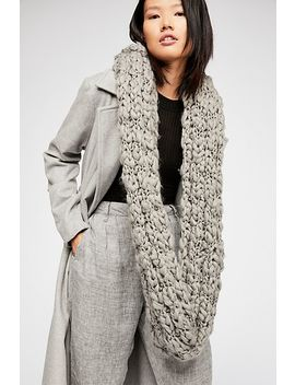 Dreamland Chunky Knit Cowl Scarf by Free People