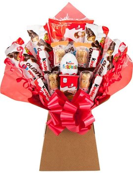 Kinder Standard Chocolate Bouquet 20 Piece Tree Explosion Gift Hamper Selection Box   Perfect Gift by Chocoholic Bouquet