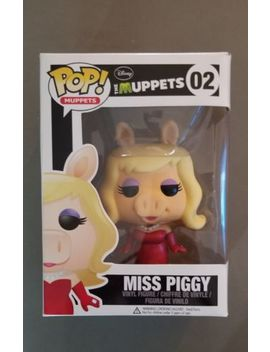 Disney Pop Funko Vinyl Figure 02 Muppets Miss Piggy Vaulted Original Release by Funko