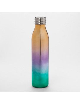 20oz Venti Air Transfer Stainless Steel Portable Water Bottle Pink/Green/Red Ombre   Room Essentials™ by Room Essentials™