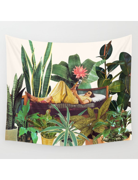 Terrarium Wall Tapestry by