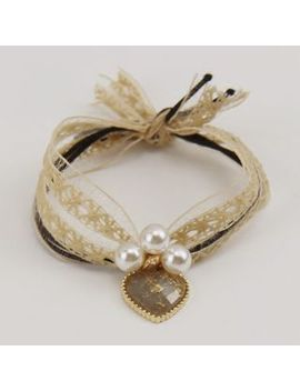 Cheveux   Faux Pearl Lace Hair Tie by Cheveux