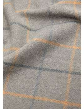 Striped Knit Scarf by Mango