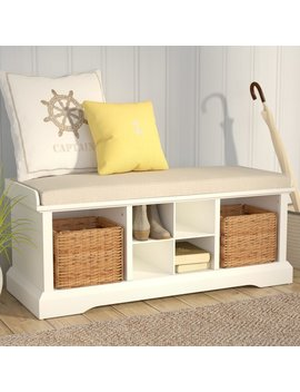 Beachcrest Home Wabasso Storage Bench & Reviews by Beachcrest Home