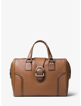 Kennedy Large Calf Leather Travel Bag by Michael Kors Mens