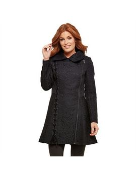 Joe Browns   Black Gorgeously Gothic Coat by Joe Browns