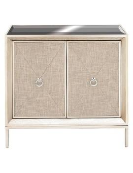 Wood And Mirror Cabinet Buffet Silver   Olivia & May by Olivia & May