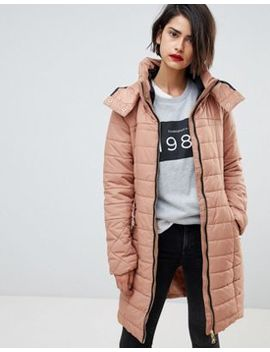 Vero Moda Padded Funnel Neck Coat by Vero Moda