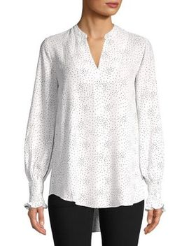 Georgie Smocked Pullover by Lord & Taylor