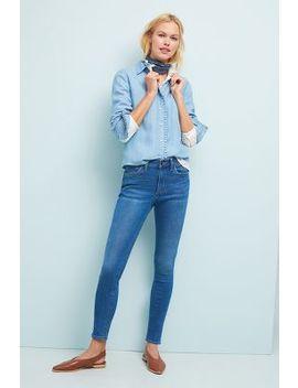 Wrangler High Rise Skinny Jeans by Wrangler